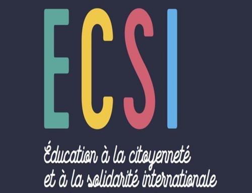 Activités d'ECSI-Education à la citoyenneté et à la solidarité internationale