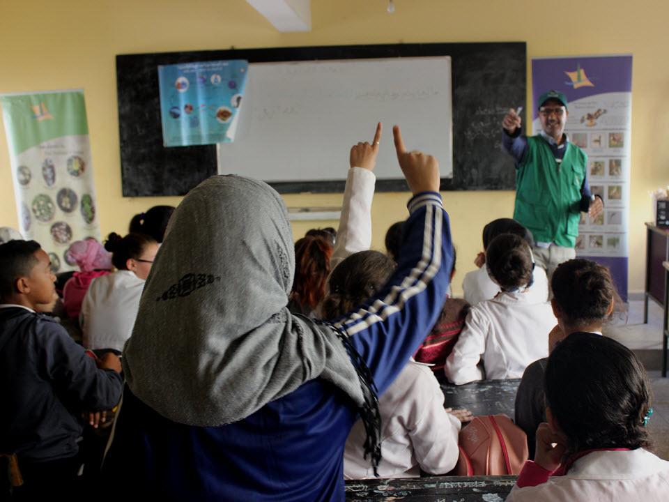 Introduire le potager à l'école en tant que support d'éducation au développement durable