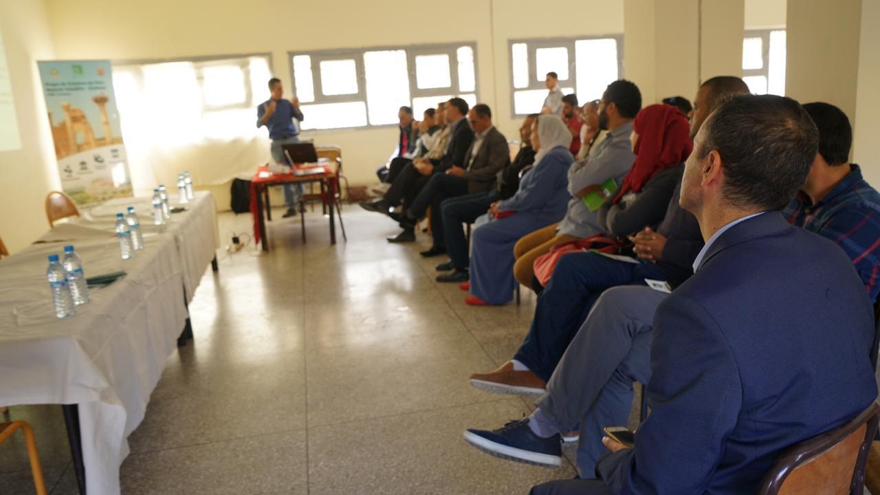Projet de protection des eaux douces de la vallée d'Oued Khoumane, Ministère de l'environnement et du PNUD, COP22, 2016-2018