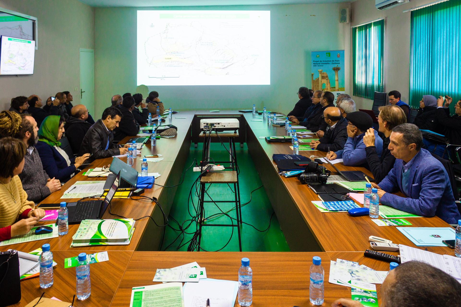 Séminaire des experts naturalistes et spécialistes des patrimoines, 12 Décembre 2019, ENA Meknès